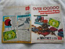 J.C.WHITNEY & CO. #302-1972 AUTOMOTIVE PARTS & ACCESSORIES VINTAGE