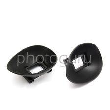Mirino OCULARE A CONCHIGLIA in gomma 18mm per CANON EOS 5D mk1 mk2 6D 70D 60D
