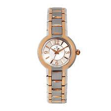 Bulova Women's 98L153 Quartz Two Tone Stainless Steel 26mm Watch