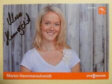 Maren Hammerschmidt (GER) – Biathlon (Autogrammkarte)