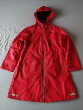 blaest by lilleboe pvc raincoat jacket red