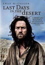 NEW DVD  - LAST DAYS IN THE DESERT - Ewan McGregor, Ciarán Hinds, Tye Sheridan,