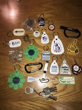 Lot Of Souvenir Advertising Key Chains Chevy Illinois Casinos Etc