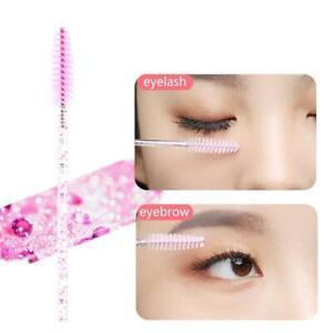 50Pcs Disposable Eyelash Brush Mascara Wands Applicator Lashes Extension Brushes