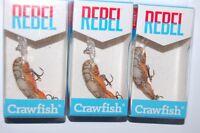 Wholesale lot of 5 Wee Crayfish Crankbaits