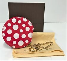 LOUIS VUITTON x YAYOI KUSAMA 'Chapeau Polka Dots' (Red) Monogram Coin Purse NIB!