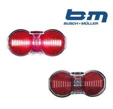 Luces y reflectantes rojas Busch & Müller para bicicletas