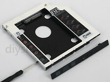 SATA 2nd HDD SSD Hard Drive Enclosure Caddy Adapter for ASUS N550 N550JV N750JV