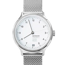 MONDAINE Helvetica Series Women's Watch mh1.r1210.sm Analogue Stainless Steel