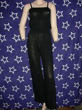 combinaison de danse d'échauffement BAÏLAREM Alana,mailles acryliques-Noire-10 a