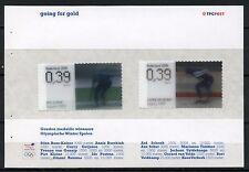 Nederland 2006 Vel uit prestigeboekje 10 2415-2416 Olympische Spelen Turijn