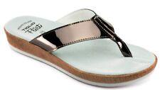 TIGLIO FLIRT INFRADITO LUCIDO, CIABATTE  da donna  art. 4254 PIOMBO  slippers