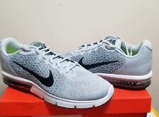 Nike Air Max Sequent 2 - Wolf Grey - White - New Size 14