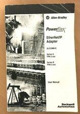 Allen Bradley 20-Comm-E EtherNet/Ip Adapter User Manual P/N 307936-P04