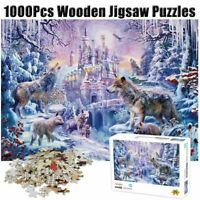 1000 Piece Twilight Jigsaw Puzzles Adult Kid Wooden DIY Painting Educational Toy