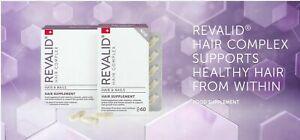 Revalid Hair Complex 60 Kapseln zur Behandlung von Haarausfall und Nägeln