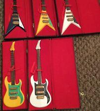 Replica model electric guitar in case beautiful gift idea. Choose colour & Shape