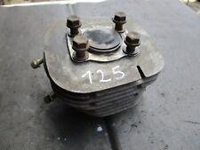 YAMAHA TRAIL 125: Cylindre avec piston 123ccm F. moteur type AT 2 DT TY année AB 71