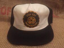 Vintage Star City Four Wheelers Winner Brand Snapback Hat Cap USA Made Trucker
