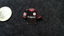 SGE Eintracht Frankfurt Trikot Pin 2003/2004 Home Fraport schwarz rot gestreift