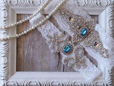 Garter w/ Toss Garter Set ~ Wedding Garter Set, Bridal Garter Set, Vintage, Lace