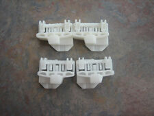 Audi A4 (B5) Window Regulator Clips - 2 Pairs- COMPLETE FRONT SET - Free US ship