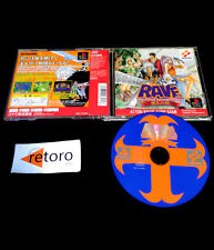 RAVE GROOVE ADVENTURE RED playstation PSX Play Station PS1 JAPONES Konami