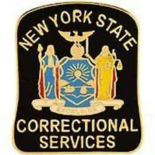 Metal Lapel Pin Law Enforcement Pin New York State Correctional Services New