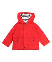 Larkwood Baby Toddler Boys Girls Showerproof PVC Hooded Rain Jacket Coat
