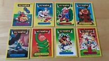 8  X  TOPPS  GARBAGE GANG  CARDS   SGORBIONS  1986 ITALY