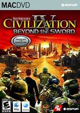 Mac Game Sid Meier's Civilization IV: Beyond the Sword  NEW Mac game