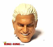 WWE DOLPH ZIGGLER Wrestling Figure HEAD Mattel Elite Custom Fodder - Heel Smirk