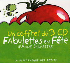 FABULETTES EN FETE - SYLVESTRE ANNE (COFFRET DIGIPACK 3 CD) - NEUF