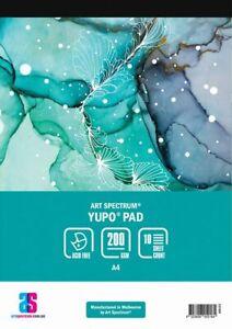 Art Spectrum Yupo Paper Pad A4 200gsm 10 Sheets