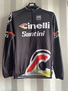 Mens Sms Santini Cintelli Cycling Jersey - Long Sleeve - Size Large