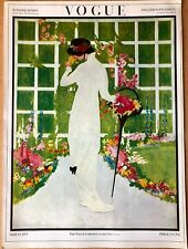 Vintage Vogue Magazine Poster May 15th, 1913 Authorised 1970's Reprint 39x28cm 2