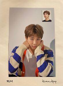 [BTS 2020 SEASONS GREETINGS] RM MINI POSTER + ID PHOTO CARD SET - GENUINE
