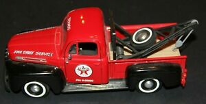 1949 FORD 1:25 F-1 TEXACO PICK UP TOW TRUCK Wrecker