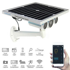 Wanscam Wireless Outdoor Solar Battery Security IP Camera Wifi Surveillance SET