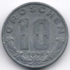 Austria : 10 Groschen 1948