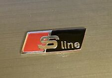 audi s line lenkrad emblem