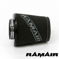 Universal 2.5in/63.5mm Cono de Inducción Cuello Ramair PERFORMANCE Espuma del filtro de aire