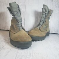 WOB Belleville USMC Hot Weather Military Combat Boots Desert Color Size 15W