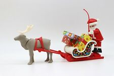 PLAYMOBIL Père Noël sur son traineau avec un renne, paquets cadeaux - 3955