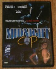 Midnight Cop DVD.  Morgan Fairchild, Frank Stallone, Michael York.