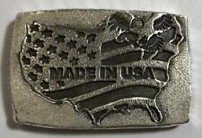 "2 TR/OZ MK BarZ ""USA Flag"" Bar .999 Fine Silver HAND POURED Bar"