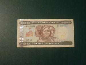 Eritrea banknote 100 Nakfa 1997 !!!!!!!