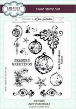Creative Expressions INKY CHRISTMAS CEC805 A5 Clear Stamp Set Lisa Horton