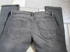 NEW ARIZONA SKINNY JEANS MENS 32X30 DARK GRAY EXTRA SLIM FIT FREE SHIP!