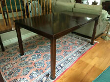 Mid Century Harvey Probber Dining Table with Chairs-Conference Room Table/Chairs